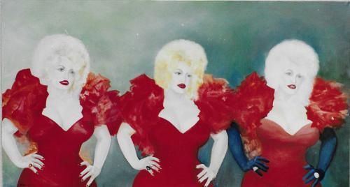 Three olly dolls ladies